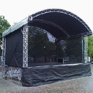 Curved Outdoor Stage