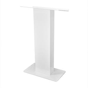 white lectern