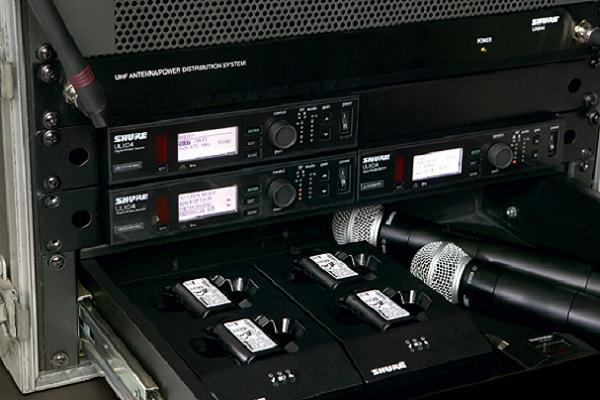 Shure Wireless Mics ULX-D Hire